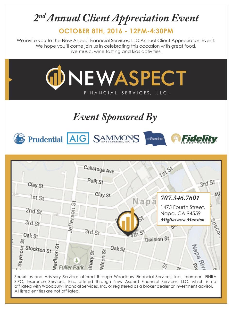 2nd Annual Client Appreciation Event Invitation Oct 8th New